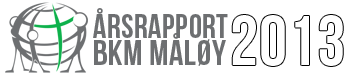 Årsrapport 2013 – BKM Måløy Logo